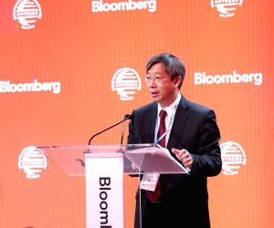 U.S.-NEW YORK-FINANCE AND INFRASTRUCTURE FORUM-YI GANG