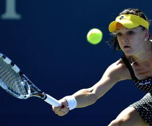 New York: U.S. Open tennis tournament - Agnieszka Radwanska