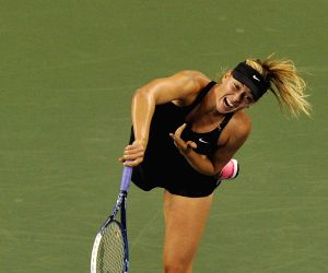 New York: U.S. Open tennis tournament - Maria Sharapova