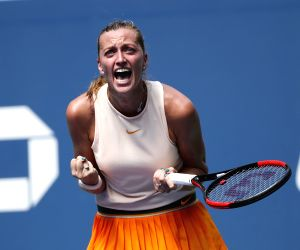 Kvitova eases past Krunic to enter Wuhan Open 3rd round