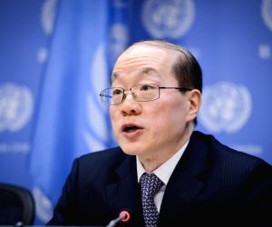 UN NEW YORK SECURITY COUNCIL CHINA PRESIDENT BRIEFING