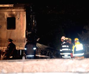 U.S. NEW YORK TRAIN CAR COLLISION