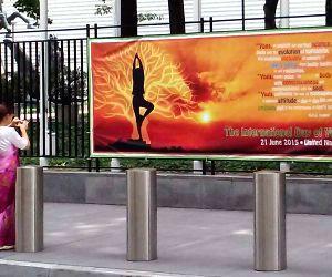 New York: International Yoga Day preparation at United Nations