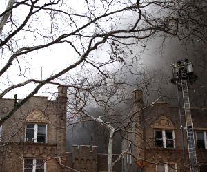 U.S. NEW YORK MANHATTAN APARTMENT FIRE