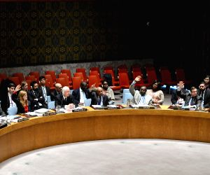 UN NEW YORK SECURITY COUNCIL SYRIA CHEMICAL WEAPON RESOLUTION