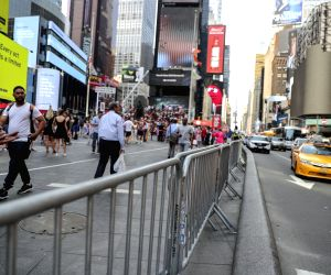 U.S. NEW YORK TIMES SQUARE SECURITY