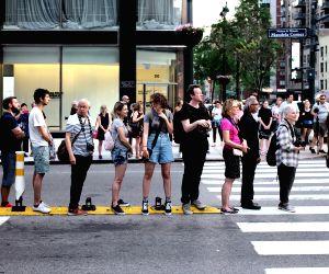 U.S. NEW YORK MANHATTANHENGE
