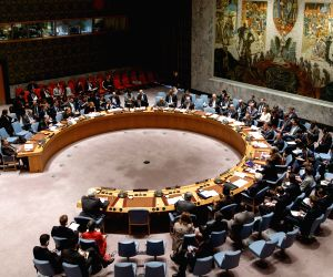 UN NEW YORK SECURITY COUNCIL SYRIA