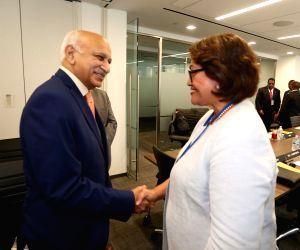 New York: Commen Wealth Ministerial Action Group meet - MJ Akbar