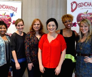 New York (U.S): Open rehearsal of Disenchanted in New York