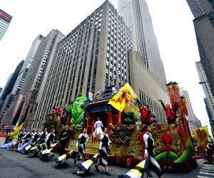 New York (U.S.): 88th Macy's Thanksgiving Day Parade in New York