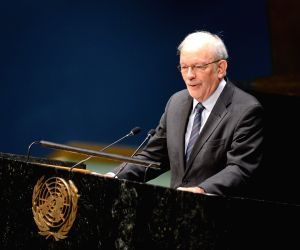 New York (U.S.): UN General Assembly marking the 25th Anniversary of the Convention of the Rights of the Child