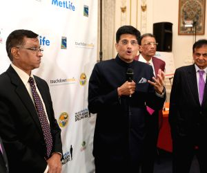 New York (US): Piyush Goyal during UN's Second SE4All Forum