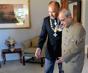 New Zealand: President Mukherjee meets Governor General of New Zealand
