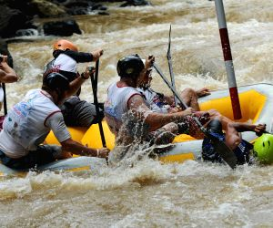 INDONESIA-SUKABUMI-WORLD RAFTING CHAMPIONSHIP 2015-PRACTICE