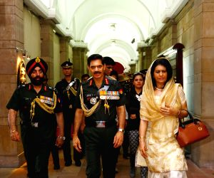 General Dalbir Singh Suhag assumes charge