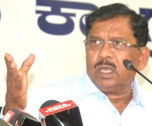 G Parameshwara's press conference
