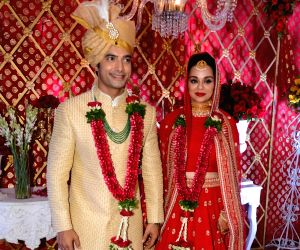 Ssharad Malhotra, Ripci Bhatia's wedding reception