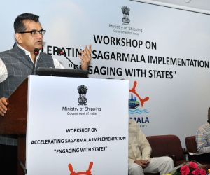 Accelerating Sagarmala Implementation – Engaging with States' - Amitabh Kant