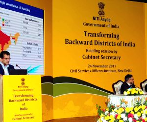 Meeting of the Prabhari Officers on Transforming Backward Districts - Amitabh Kant
