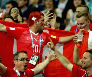 World Cup: Switzerland qualify for round of 16 after 2-2 draw with Costa Rica