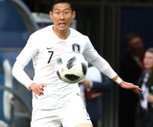 Nizhny Novgorod: Son Heung-min at FIFA World Cup match