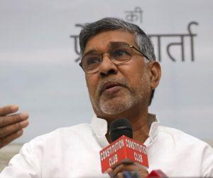 Kailash Satyarthi's press conference