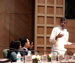 Kailash Satyarthi during a PHD Chamber programme