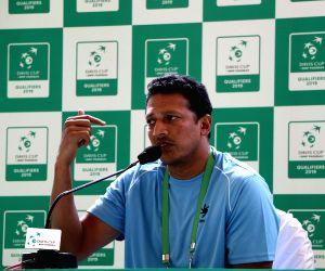 Mahesh Bhupathi's press conference