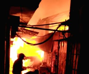North 24 Parganas: Two killed, scores of shops gutted in Bengal fire