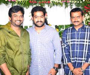 NTR, Puri Jagannaths new film launch