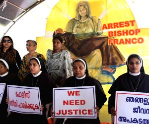 Kerala Police questions bishop accused of raping nun