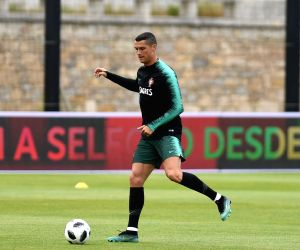 PORTUGAL OEIRAS SOCCER WORLD CUP TRAINING