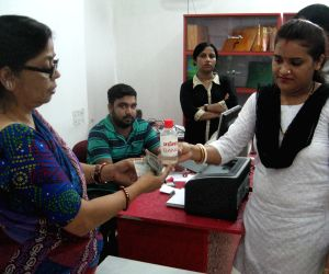 Gangajal being sold at post office