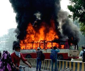 Violence breaks out over BSP leaders's murder