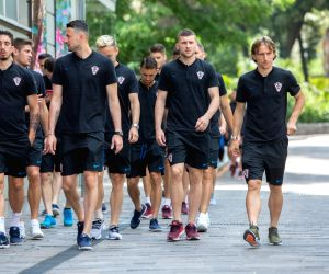 CROATIA OPATIJA FOOTBALL FIFA WORLD CUP PREPARATION