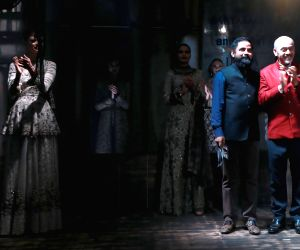 Opening show by Sabyasachi Mukherjee's at the Amazon India Couture Week (AICW) 2015