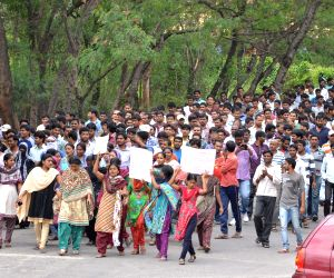 Osmania University demonstration