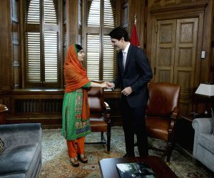 CANADA OTTAWA MALALA HONORARY CANADIAN CITIZENSHIP