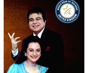 Free Photo: Dilip Kumar gets felicitated by World Book of Records-London on his 97th Birthday