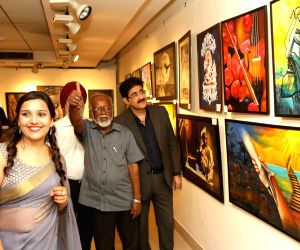 "Aantar Dharshan"" - Art exhibition"