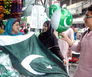 PAKISTAN LAHORE INDEPENDENCE DAY PREPARATION