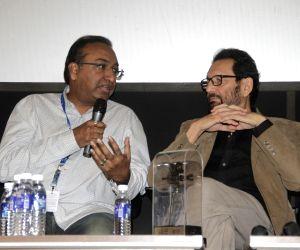 Panaji :IFFI 2017  - Sameer Nair and Sudhir Mishra -  Digital Space Panel Discussion