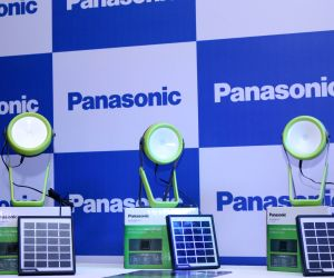 Panansonic launches solar lantern