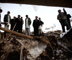 AFGHANISTAN PANJSHIR AVALANCHES AFTERMATH