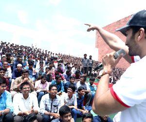 Parichayam team at VVIT College