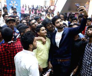 Parichayam team at Trendset Mall Vijayawada
