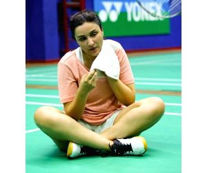 Parineeti Chopra is currently prepping for the biopic Saina Nehwal. The star Badminton player has reacted and said that she cannot wait to see the actress to play the best athlete on screen.