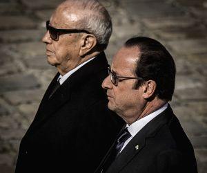 FRANCE TUNISIAN PRESIDENT VISIT