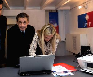 Paris (France): Nicolas Sarkozy won the race to the leadership of crisis-hit conservative party Union